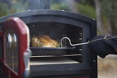 ERÄ! FORNETTO WOOD FIRED OVEN RED PIHAUUNI