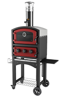 FORNETTO WOOD FIRED OVEN RED PIHAUUNI